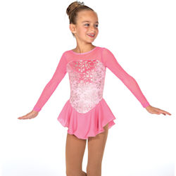 Jerrys Princess Pink Competition Figure Skating Dress (13)