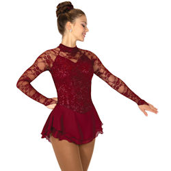 Jerrys Loire Valley Lace Ice Skating Dress (115)